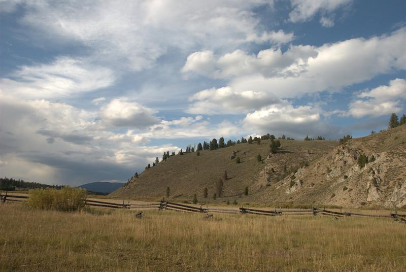 Near Stanley, Idaho