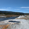 Hot spring near the river, Upper Geyser Basin