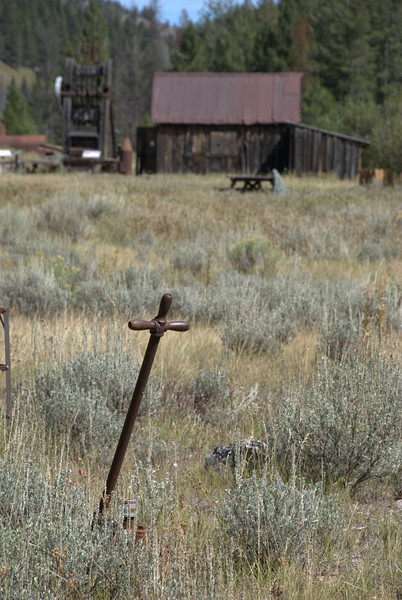 Abandoned gold mining town - Custer, Idaho