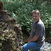 Stan at the creek.