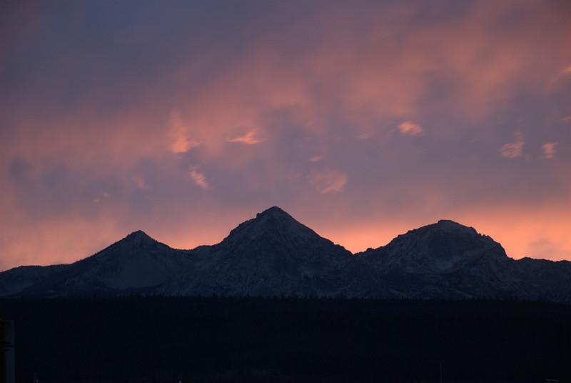 Stanley, Idaho Sunset