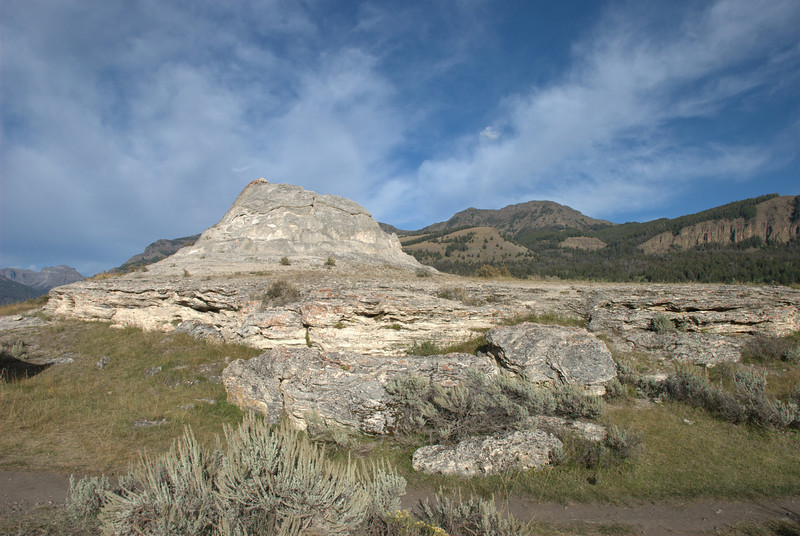 Soda Butte, Lamar Valley, Yellowstone