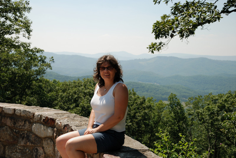Lynne - Shenandoah Mountain Pass, Virginia