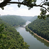 View from Hawks Nest State Park Overlook