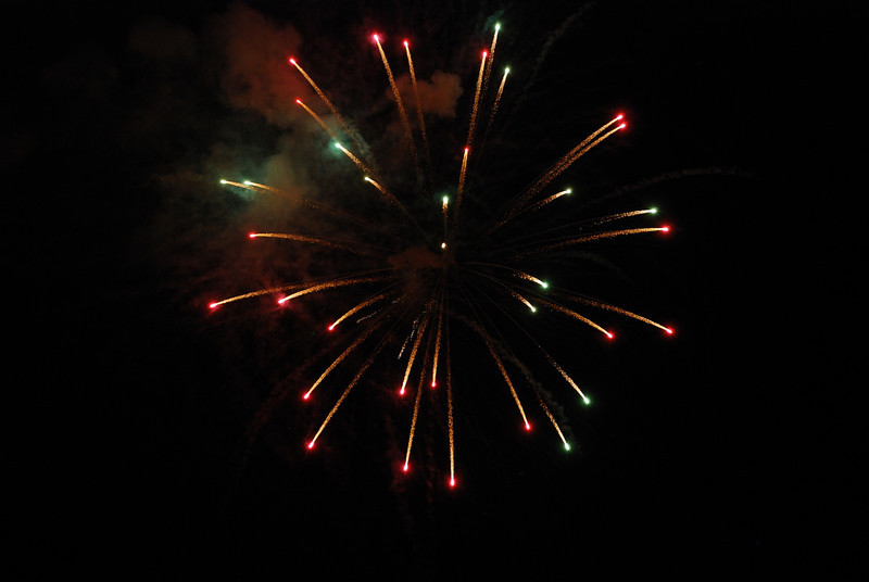 July 4th Fireworks - Beckley, WV