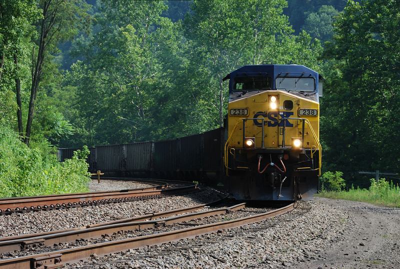 Train near Thurmond, WV