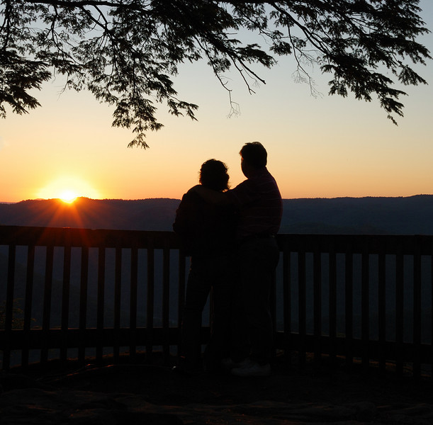 Watching the Sunset - Turkey Spur at Grandview