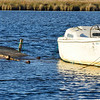 Abandoned boat and dock - Colington Island