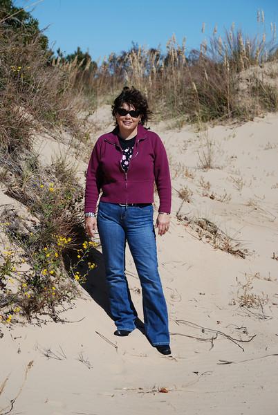 Lynne at Jockey's Ridge State Park