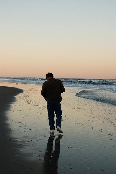 Stan on the beach - Corolla, NC