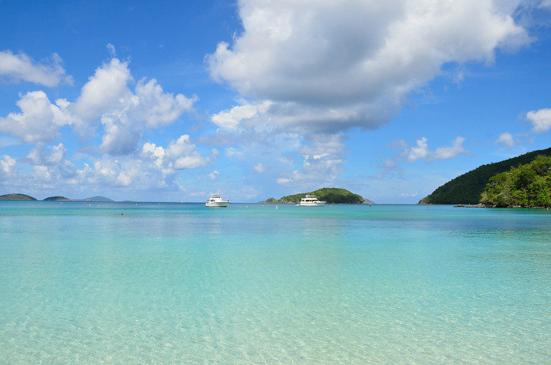 Maho Bay on St. John.
