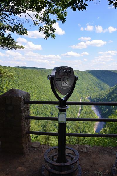 """Pine Creek Gorge - <a href=""""http://en.wikipedia.org/wiki/Leonard_Harrison_State_Park"""">http://en.wikipedia.org/wiki/Leonard_Harrison_State_Park</a>"""