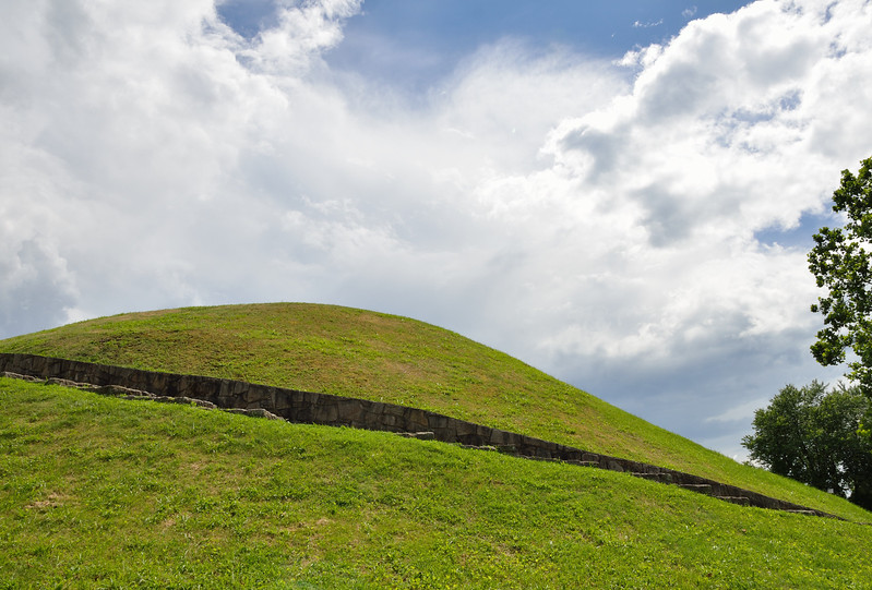 Indian Burial Mound - South Charleston