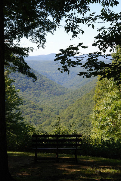 Scenic Overlook at Babcock State Park