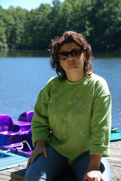 Lynne at Boley Lake