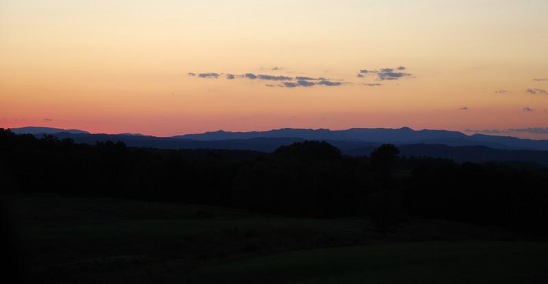 Sunset near Grand View