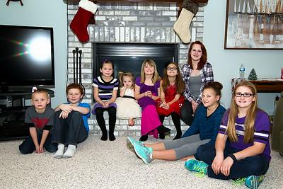 2014- Ryder, Grant, Hallie, Airi, Maddy, Lily, Uriah, Jenna, Mac