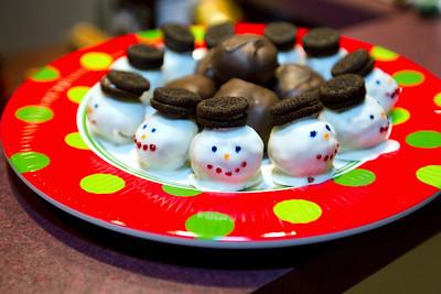 2014 Snowmen Cakeballs