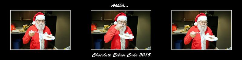 Chocolate eclair 2015
