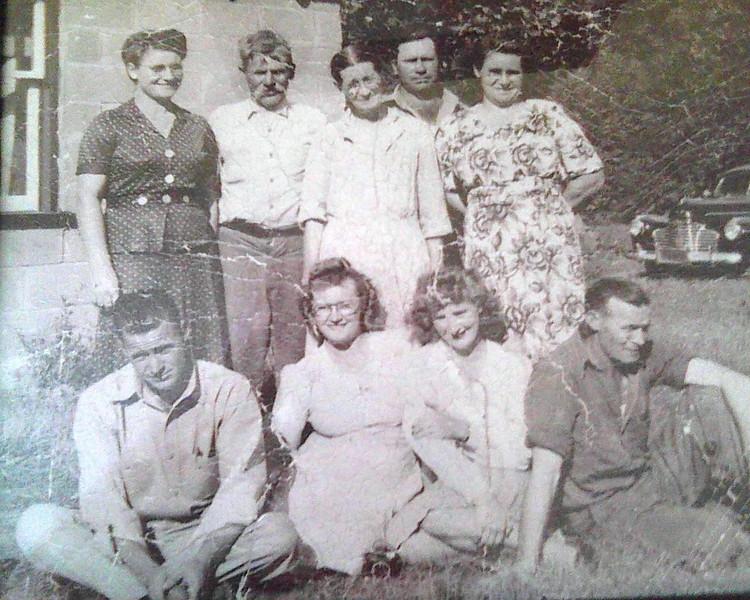 Edith, Harry, Etta Mae, Charles, Marie, John, Imogene, Orthlea, Doc