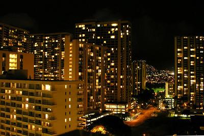 Honolulu and Waikiki Beach on Oahu Hawaii
