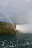 Horseshoe Falls with rainbow