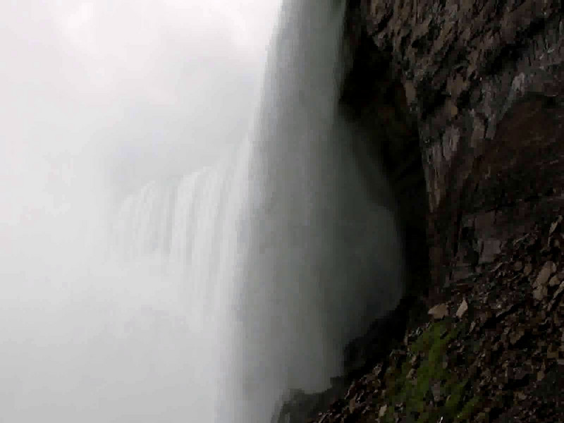 Cant get enough... Taken on the Behind the Falls tour, from the observation platform at the bottom of the Horseshoe falls on the Canadian side.