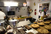 Homemade pies, cakes, cookies and brownies.