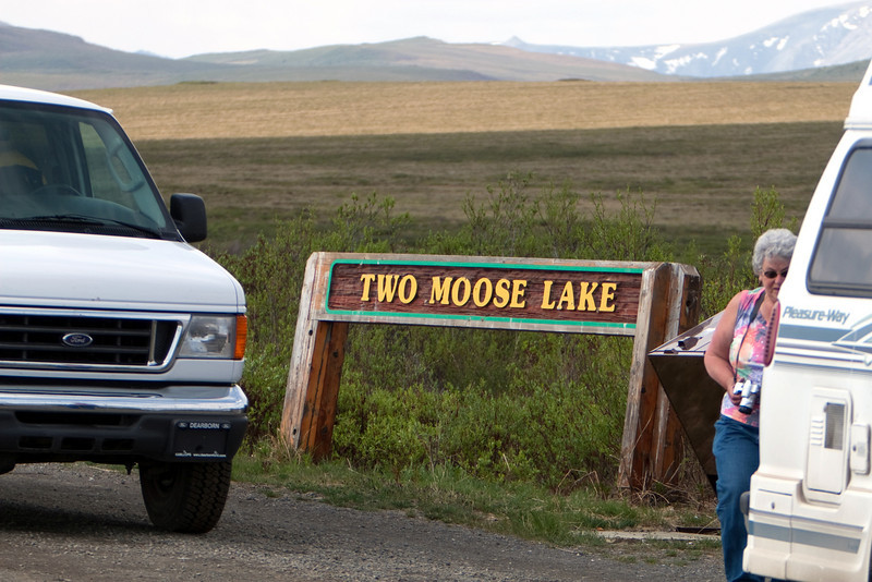 """Two Moose Lake shoulda been called """"Two Hundred Thousand Mosquito Lake""""."""