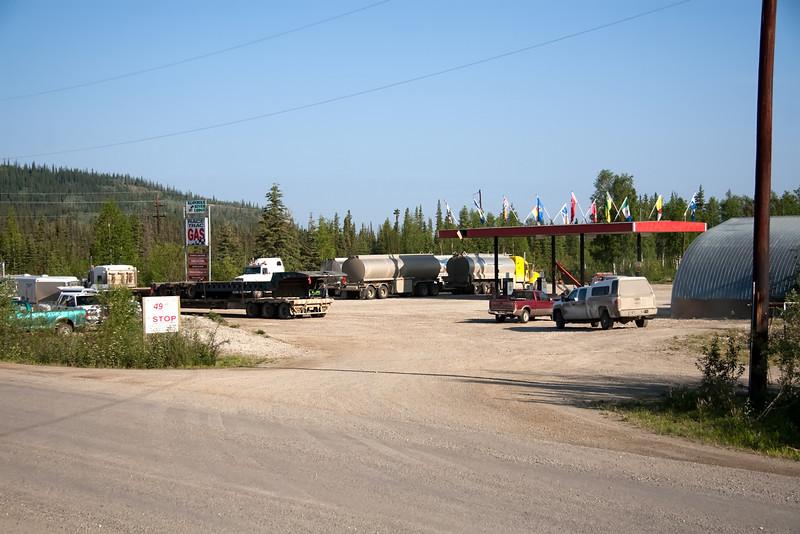 Yukon truck stop