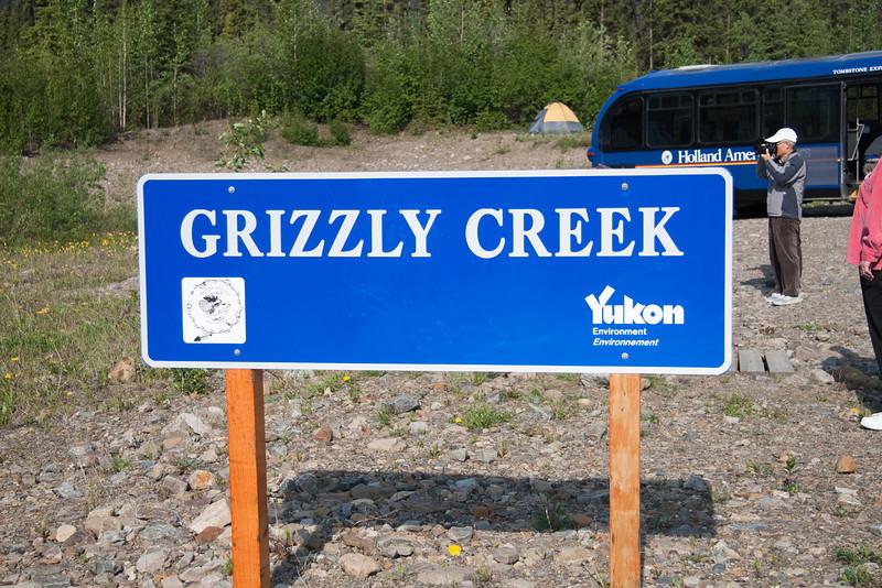 We take a hike along Grizzly Creek.