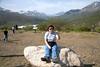 Darla at Tombstone Provincial Park