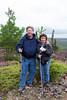 Paul and Darla hike the Rock Glacier trail