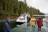 The float plane dock at Misty Fjords.