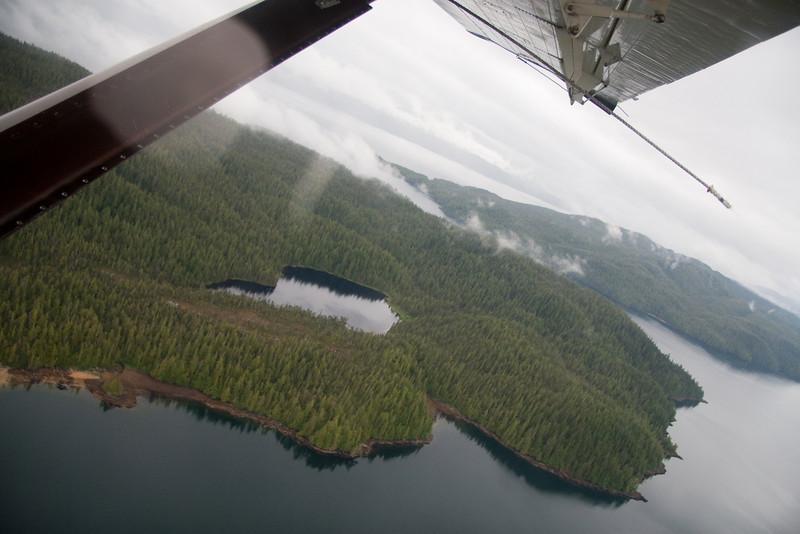 Taken during our float plane flight