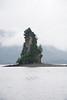 Big rock on return trip to Ketchikan
