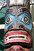 Totem in Skagway Alaska