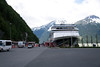 The port at Skagway