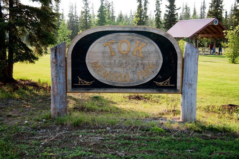 Nice little park in Tok, Alaska.