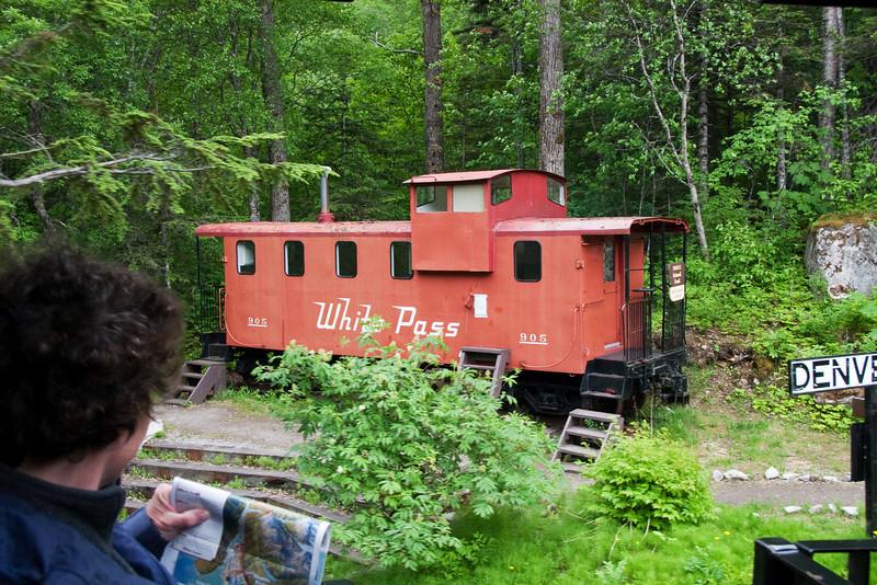 White Pass and Yukon caboose