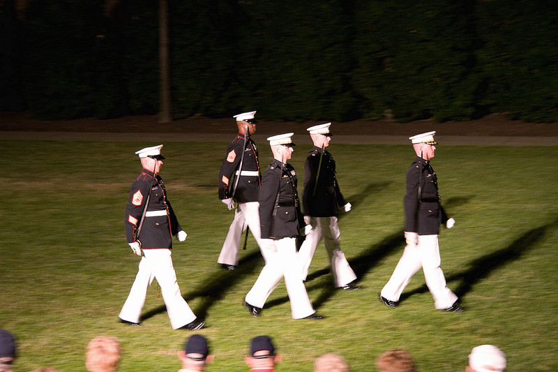 The Marine Silent Drill Platoon