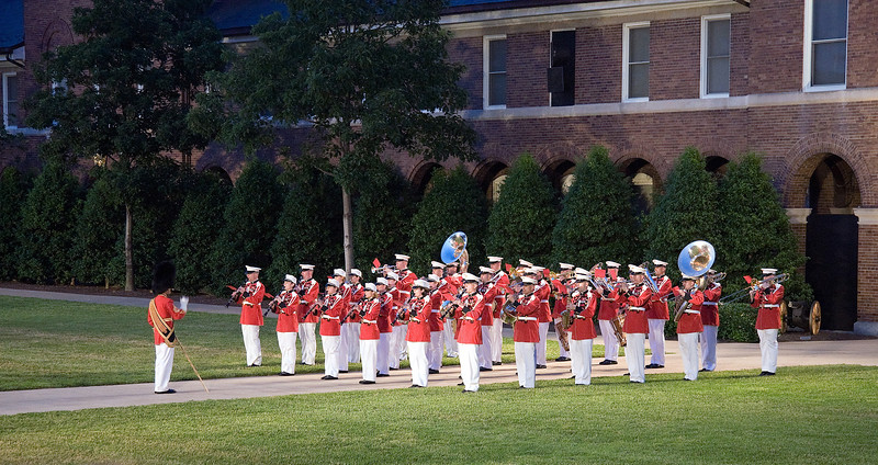 "The ""Presidents Own""  Marine Band"