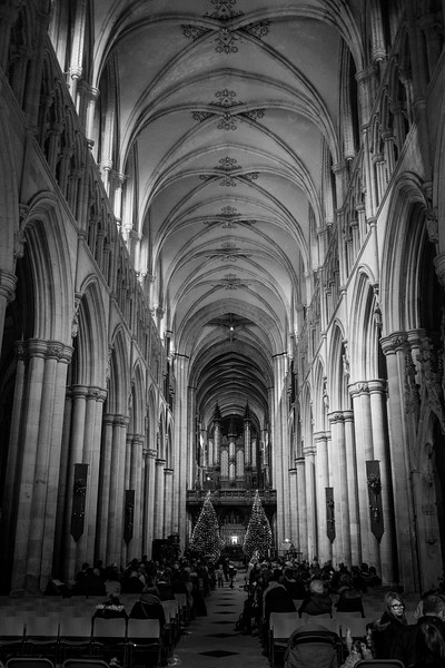 Beverley Minster on Christmas Eve