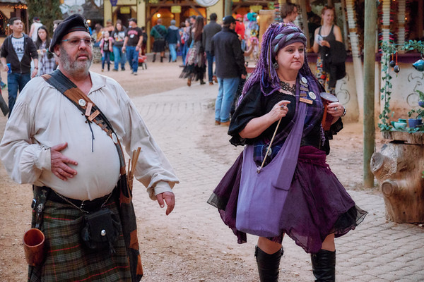 Texas Renaissance Festival, RenFaire, After Dark, Becca, Chris Wahl, Nella, Stacy, Charles, Costume