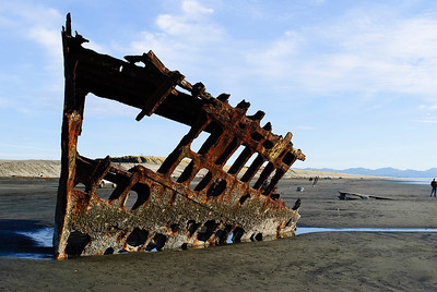 2.05.12 The wreck of the Peter Iredale