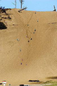 11.10.13   Up and down a giant sand dune Pacific City, Oregon