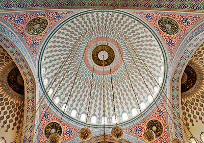 Circle in a Circle - Wheel Within a Wheel This photo is also of the Kocatepe Mosque in Ankara Turkey shot in April 2008. To me, even these photos don't do the beauty of this mosque justice.