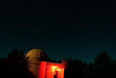 7.28.12  The Observatory at Sunriver Sunriver, Oregon  Note the Big Dipper is center top.