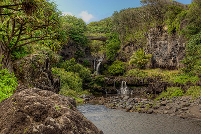 Seven sacred pools just beyond Hana.