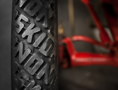 Seriously - 'Non-Skid' tires!